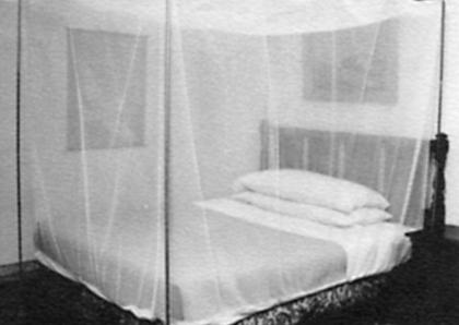 La Mosquette malaria bed net