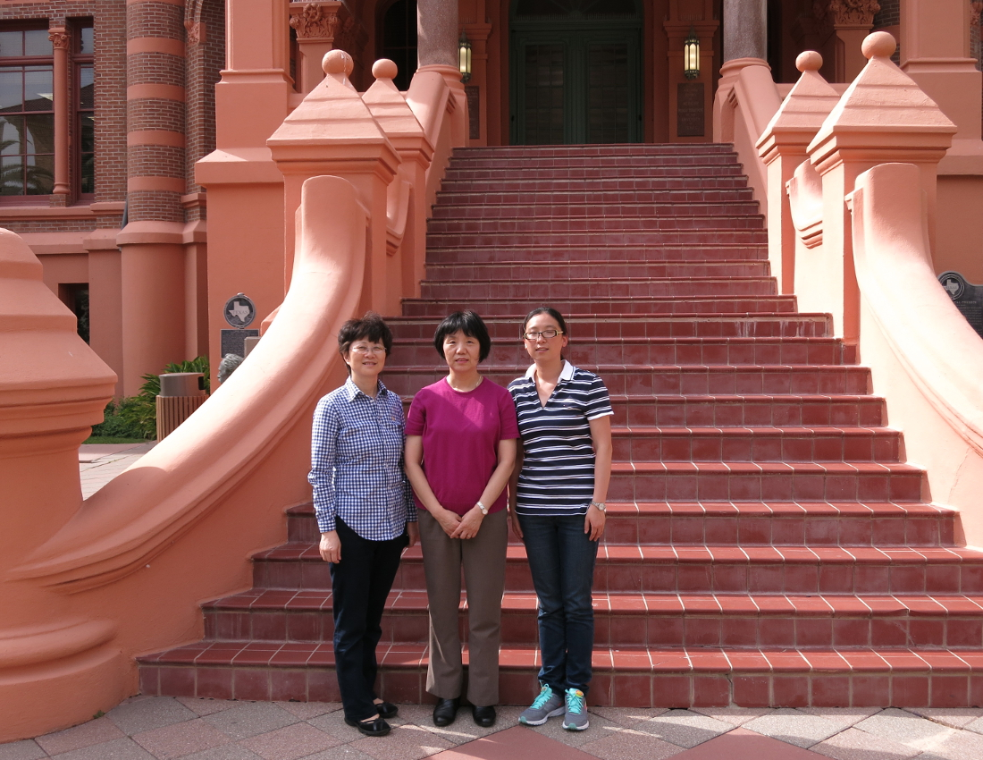 2015 IAMAT-China scholars