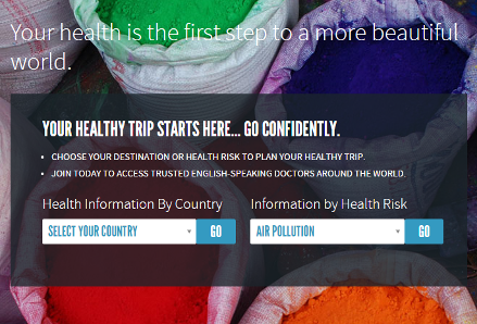 Taking travel health online