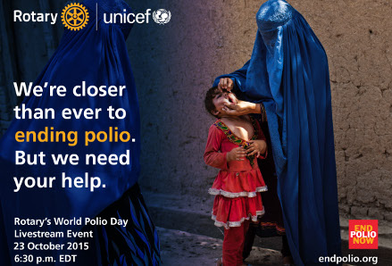 World Polio Day, photo by Rotary International
