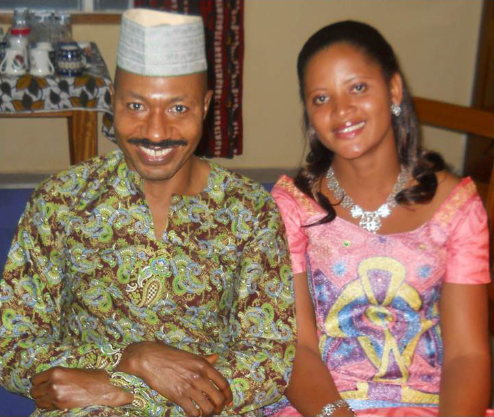 Dr. Nesoah and his wife.