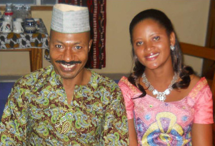 Dr. Nesoah and his wife