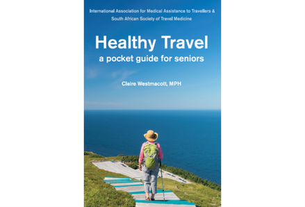 "Cover of the book ""Healthy Travel: a pocket guide for seniors"""